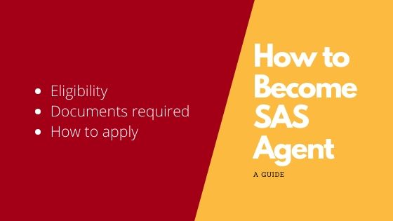 Become SAS Agent