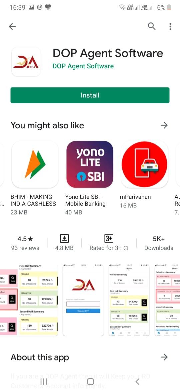 dop agent app installation guide